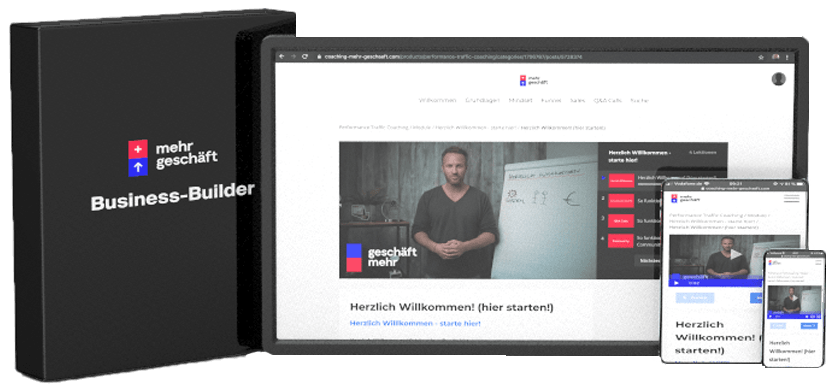 Business-Builder-Premium Mehr Geschäft – Online-Marketing