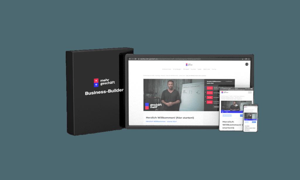 Business Builder Visualisierung Mehr Geschäft – Online-Marketing