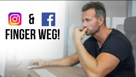 Instagram & Facebook machen dich arm und dumm! Mehr Geschäft – Online-Marketing