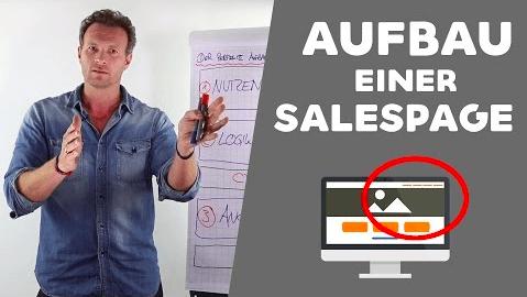 Der richtige Aufbau einer Salespage Mehr Geschäft – Online-Marketing