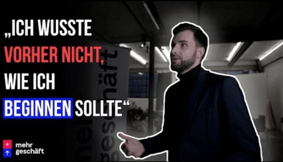 """Matthias Clausen: """"Das hat mich um Längen nach Vorne katapultiert!"""" Mehr Geschäft – Online-Marketing"""
