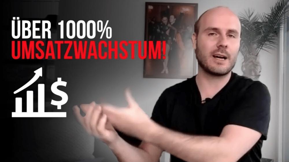 Alex Raue: Von 2.000€ auf 24.000€ Umsatz in 3 Wochen! Mehr Geschäft – Online-Marketing