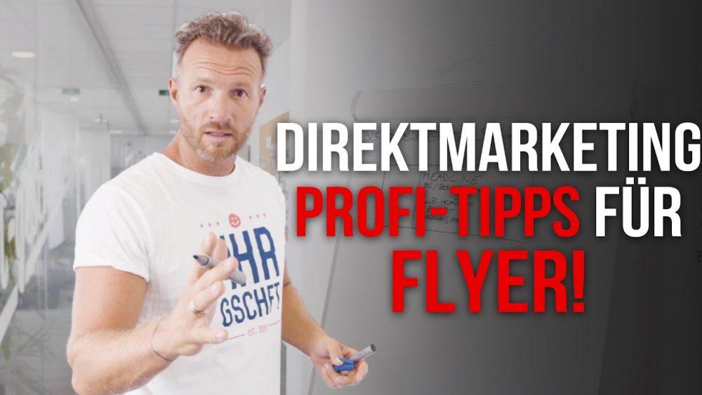 Mehr Geschäft – Wie du Flyer baust, die sofort funktionieren! Mehr Geschäft – Online-Marketing
