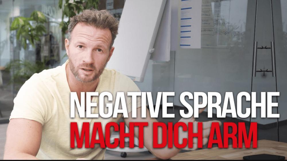 Negative Sprache macht dich arm! Mehr Geschäft – Online-Marketing