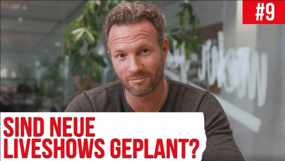 Sind neue Liveshows geplant ?! | Fragenhagel #9 Mehr Geschäft – Online-Marketing