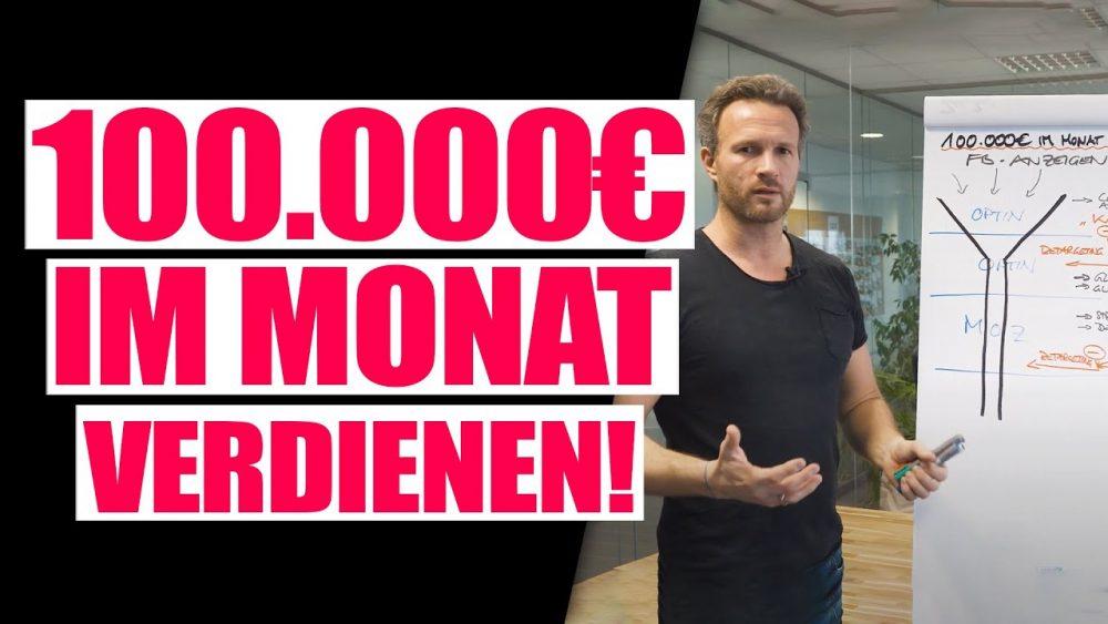 Wie man 100.000€ im Monat online verdient? Mehr Geschäft – Online-Marketing
